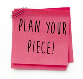 Plan Your Piece