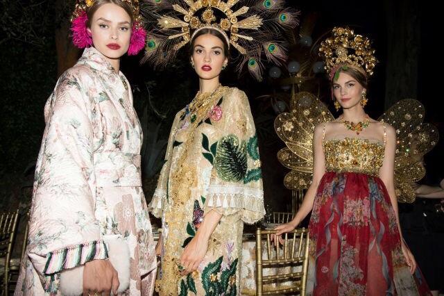 Dolce & Gabbana Fall 2015 Alta ModaCollection